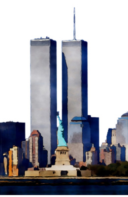 1 world trade center clipart