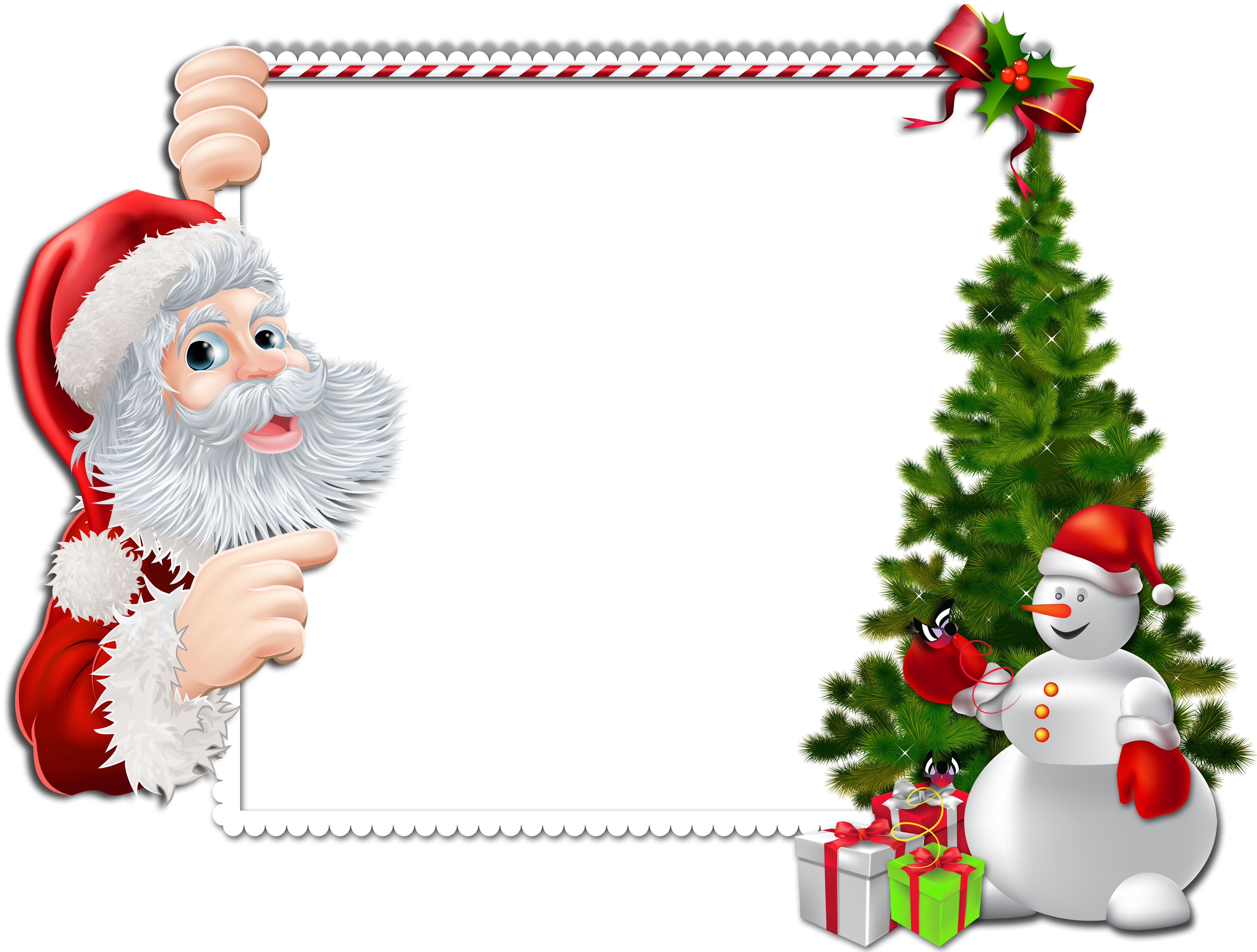 Christmas clipart frame picture freeuse stock Christmas Frame Clipart & Christmas Frame Clip Art Images ... picture freeuse stock
