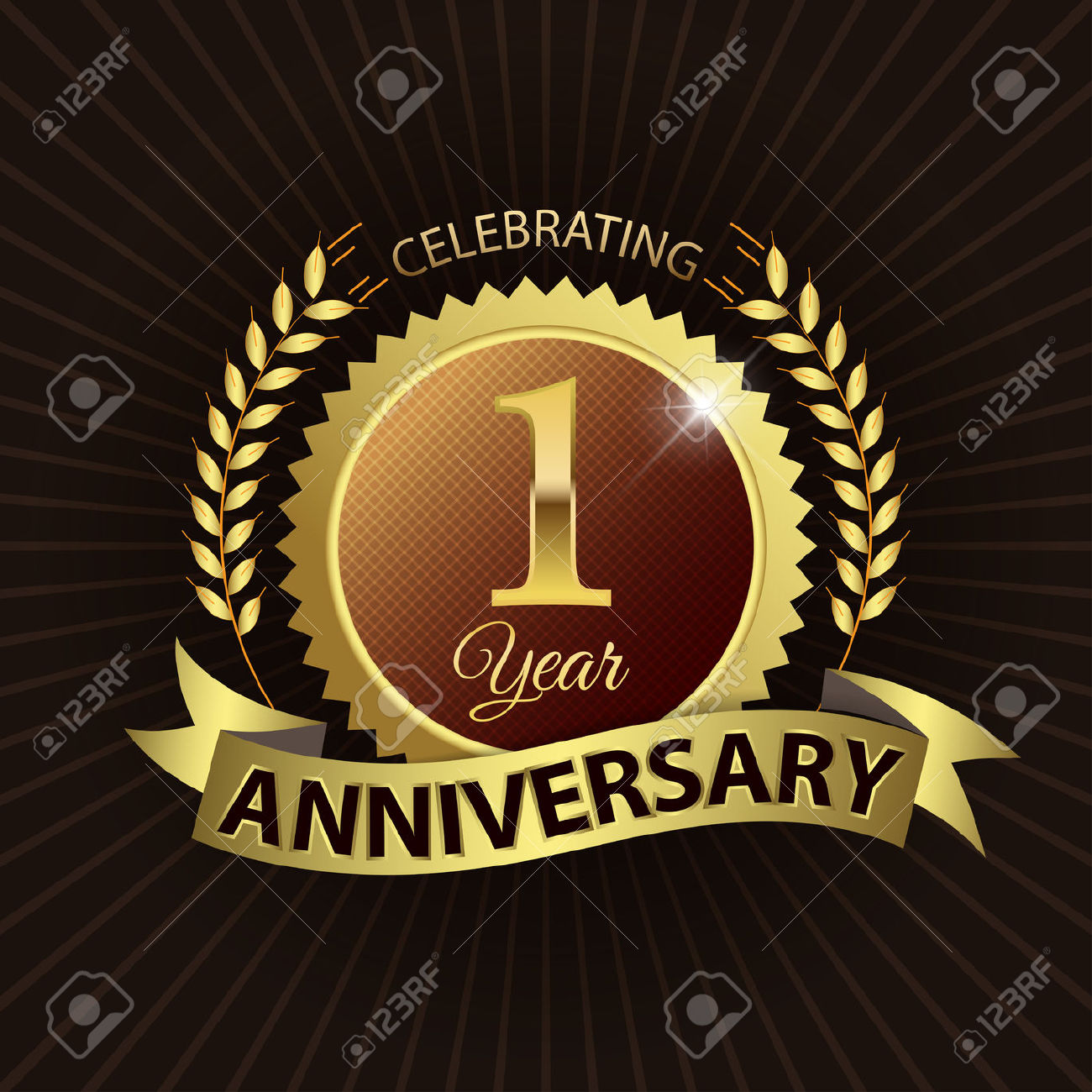 1 year anniversary celebration clipart picture download 2,382 One Year Anniversary Stock Illustrations, Cliparts And ... picture download