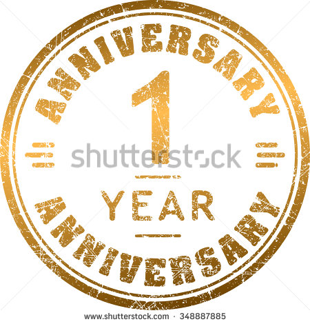1 Year Anniversary Stock Images, Royalty-Free Images & Vectors ... image stock