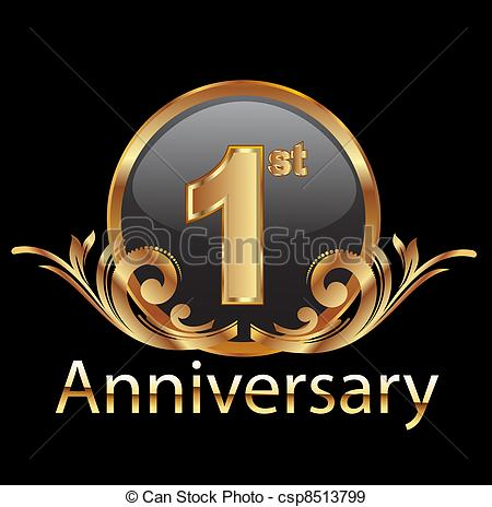 One Year Anniversary Clip Art – Clipart Free Download image transparent stock