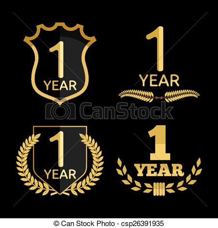 1 year anniversary celebration clipart clip stock 1 year anniversary clip art - ClipartFest clip stock