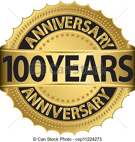 100 Year Celebration Clipart png transparent library