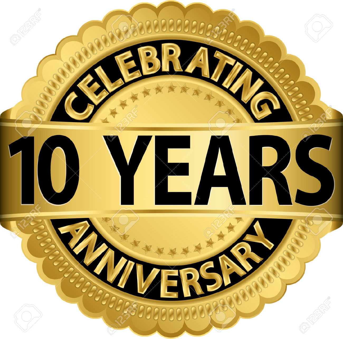 1 year anniversary celebration clipart - ClipartFest graphic black and white