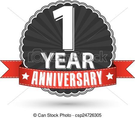 1 year anniversary Clipart Vector Graphics. 485 1 year anniversary ... freeuse stock