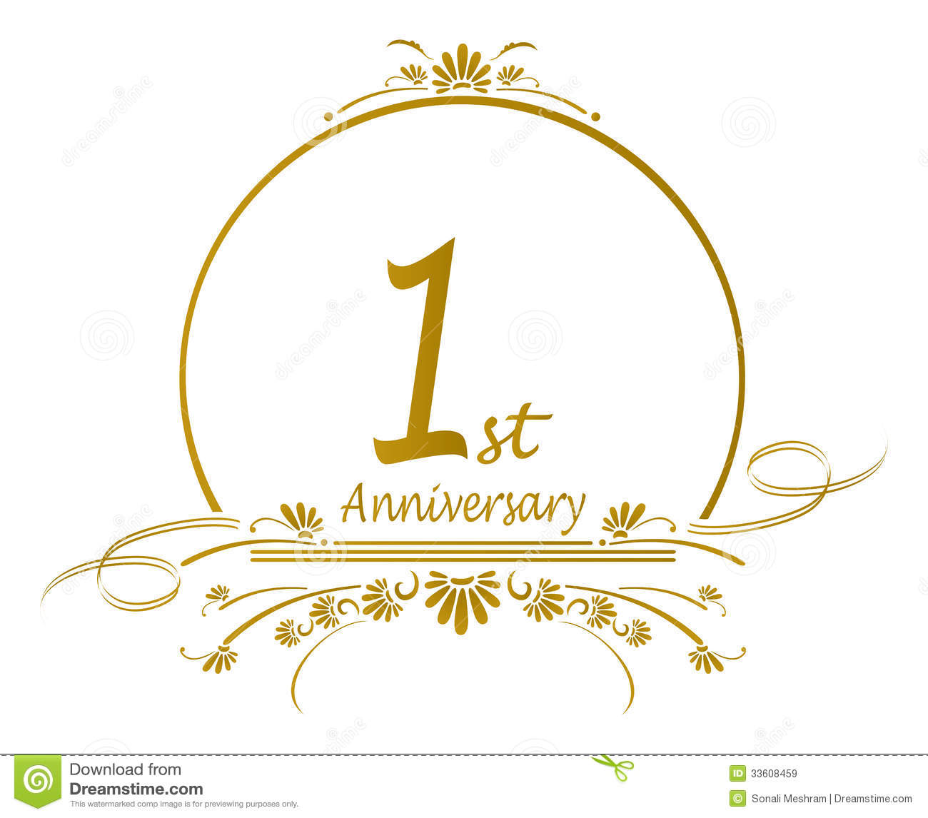One wedding clipart clipartfest. 1 year anniversary clip art