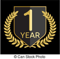 1 year anniversary Clipart Vector Graphics. 485 1 year anniversary ... clip art stock