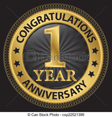 1 year anniversary Clipart Vector Graphics. 485 1 year anniversary ... svg transparent library