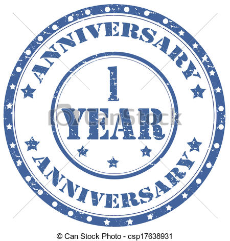 1 Year Anniversary Clipart - Clipart Kid clip art free library