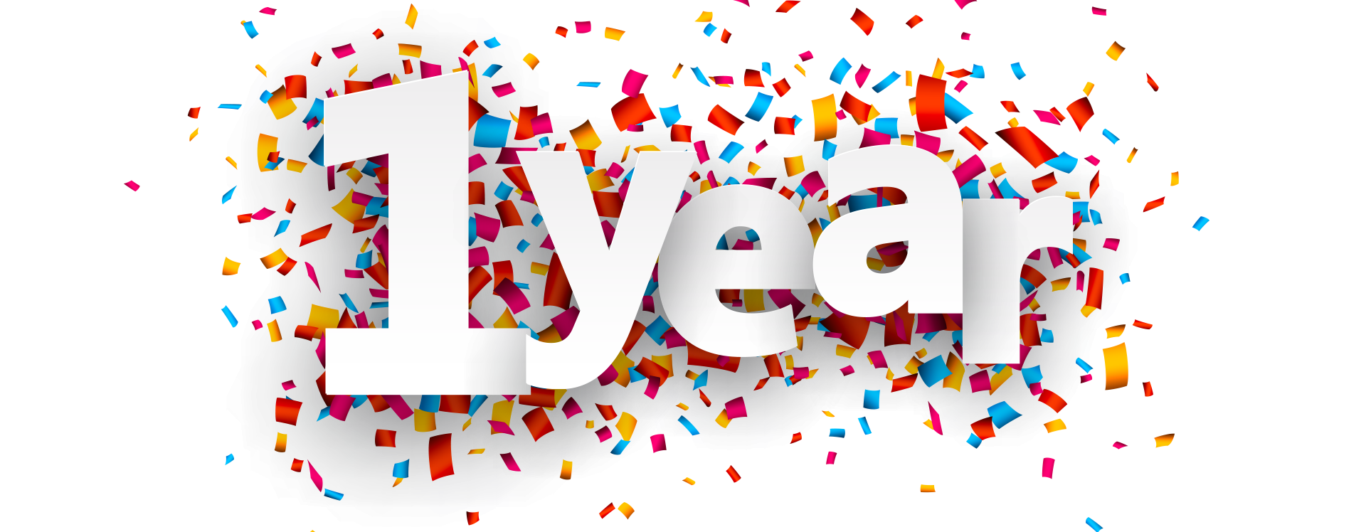 1 year anniversary clip art graphic royalty free library One year anniversary | Blog | Kingdom Maintenance Services | Fife graphic royalty free library