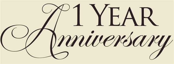 1 year anniversary clipart. One wedding clipartfest happy