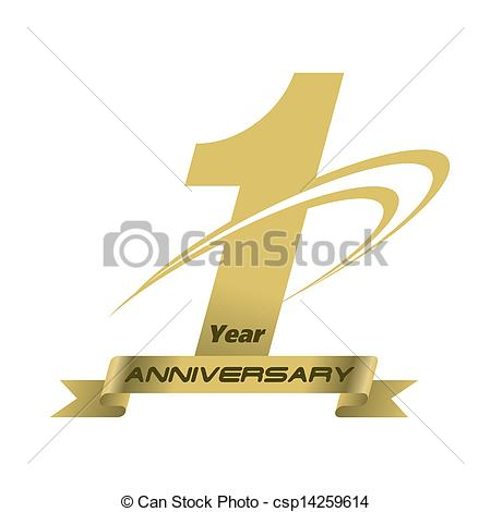 1 year anniversary clipart png black and white 1 Year Anniversary Clip Art – Clipart Free Download png black and white