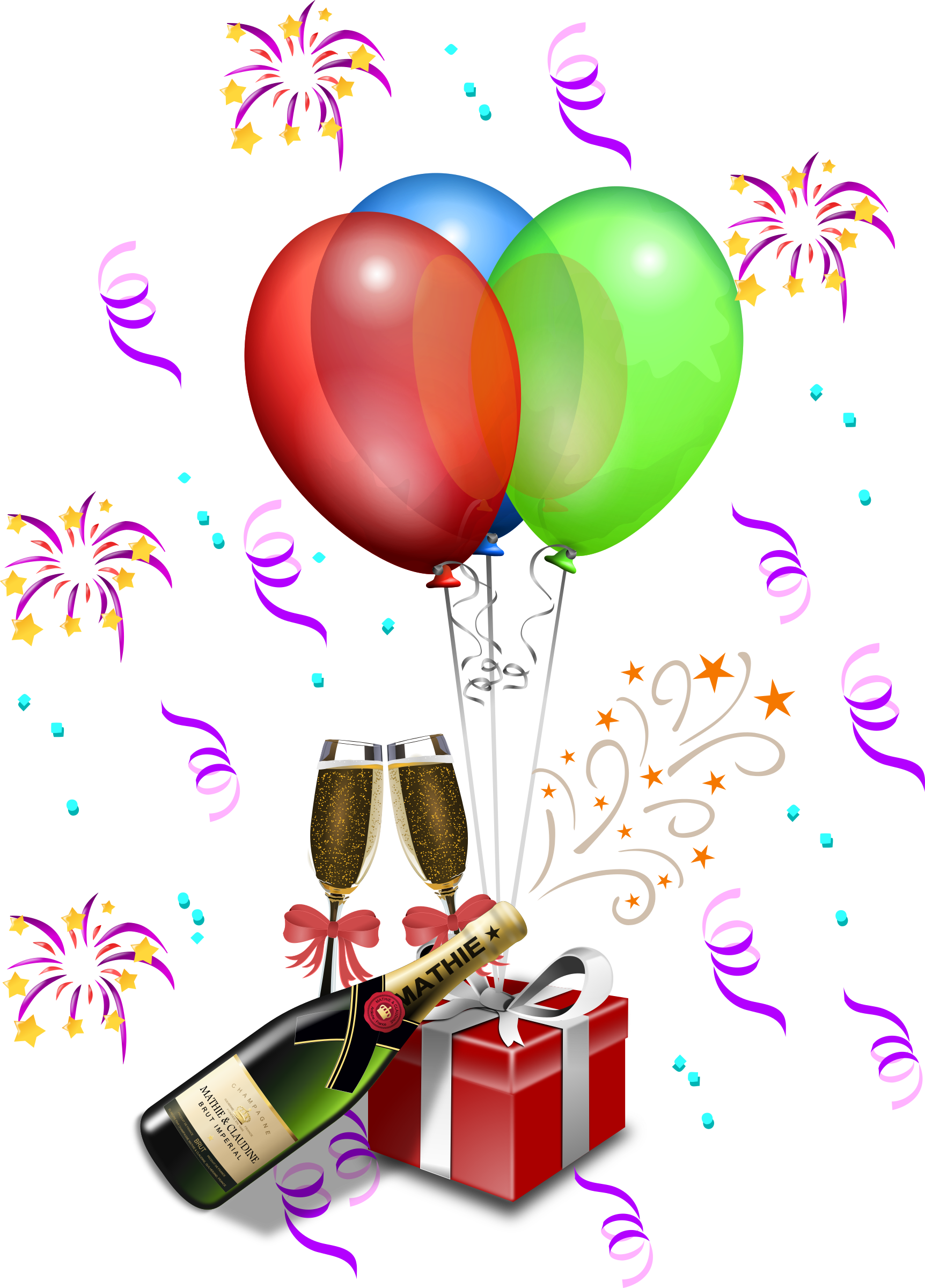1 year anniversary clipart clip art free library Clipart - Champagne Showers 1 clip art free library