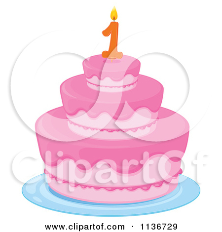 1 year cake clipart vector royalty free stock Royalty-Free (RF) One Year Old Clipart, Illustrations, Vector ... vector royalty free stock