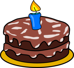 1 year cake clipart freeuse stock Cake With 1 Candles Clip Art at Clker.com - vector clip art online ... freeuse stock