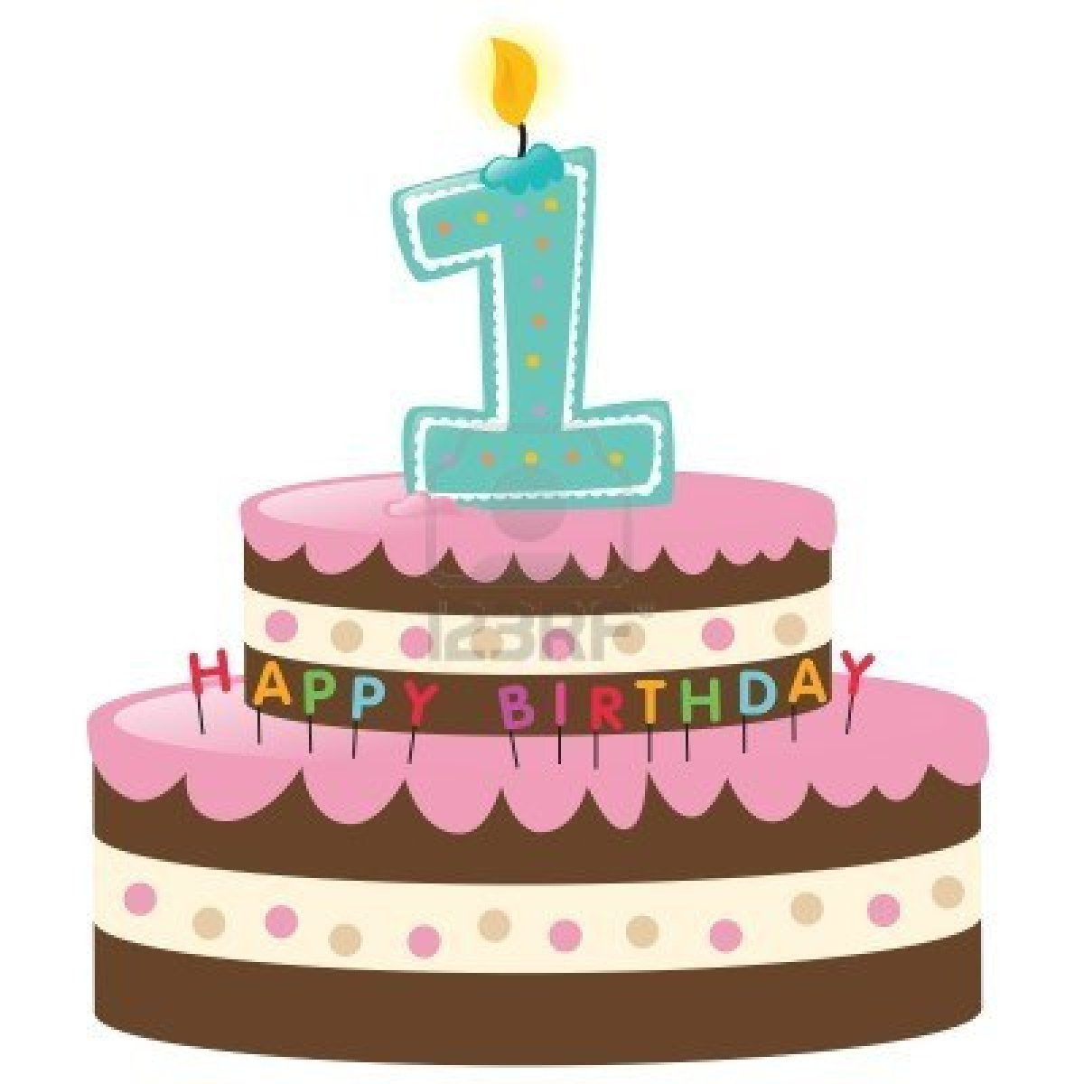 1 year cake clipart clipart stock 1 year old birthday cake clipart - ClipartFest clipart stock