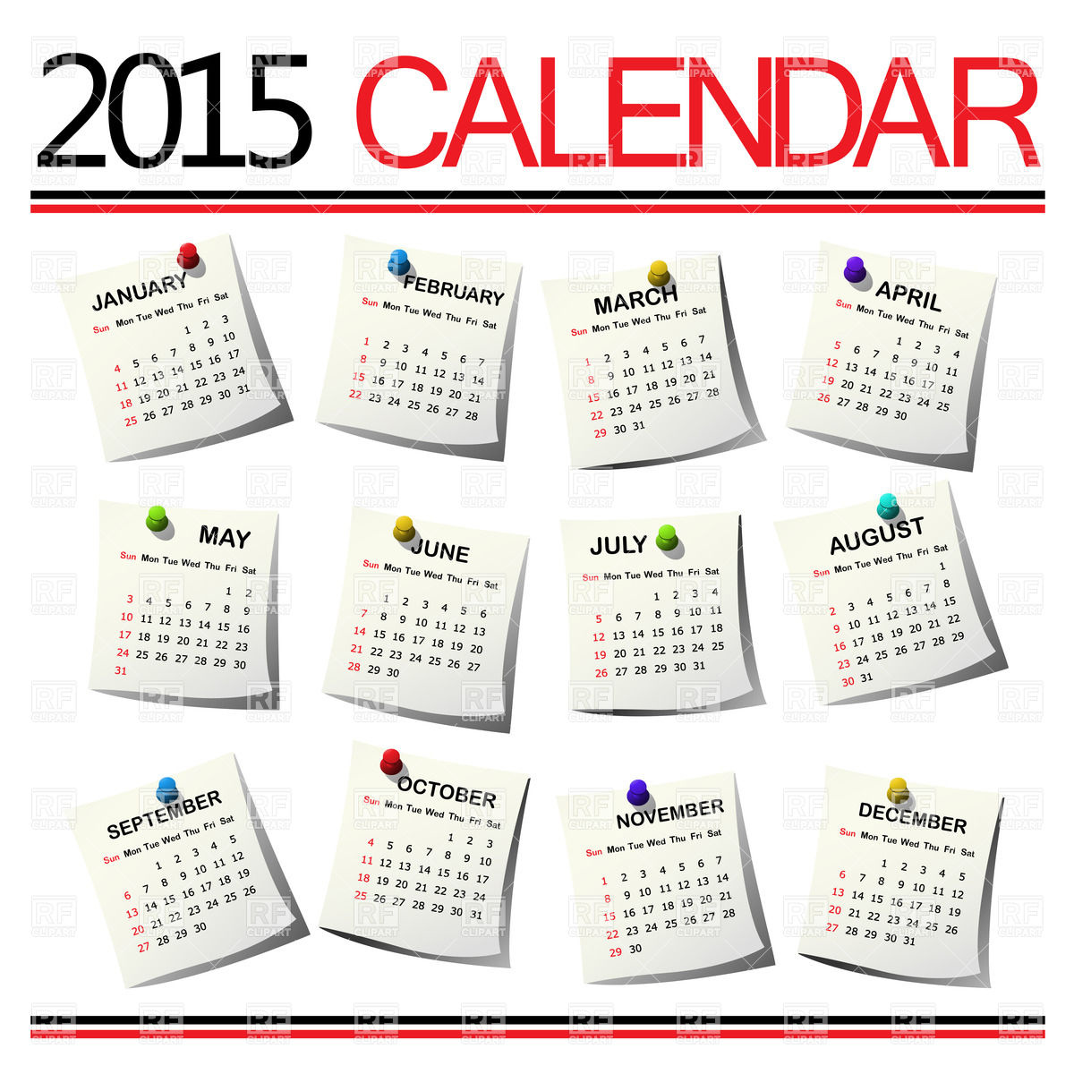 1 year calender clipart graphic free download 1 year calender clipart - ClipartFest graphic free download