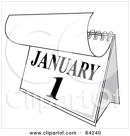 1 year calender clipart clip art Royalty Free Desk Calendar Illustrations by Pams Clipart Page 1 clip art