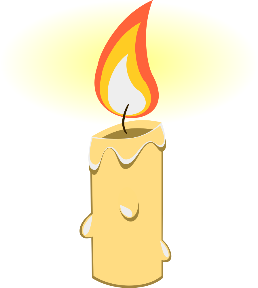 1 year candle clipart png black and white download Candle clipart png 1 » Clipart Station png black and white download