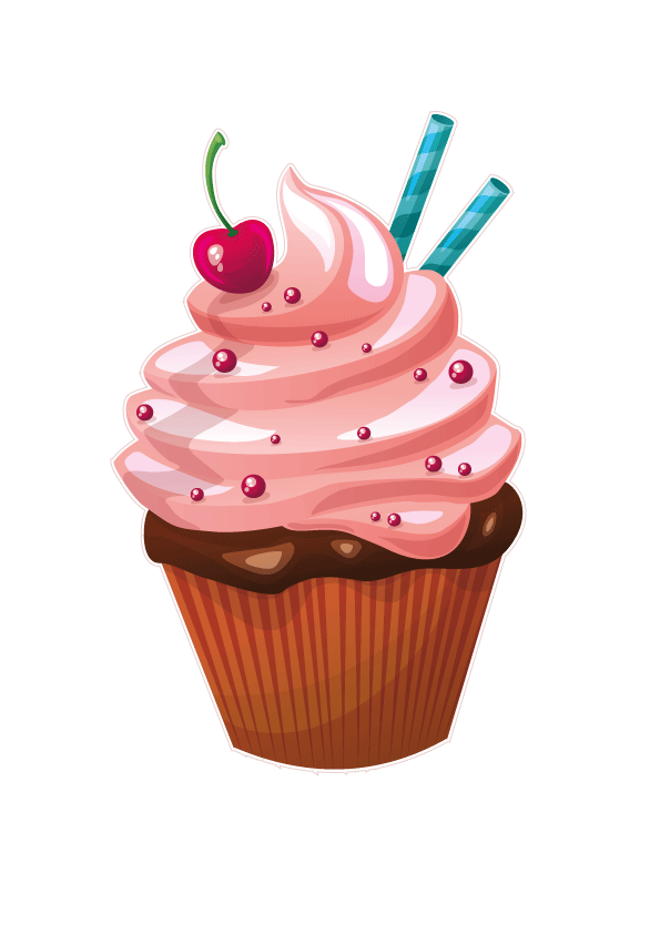 1 year cupcake transparent clipart svg freeuse download Cupcakes & Muffins Frosting & Icing Cupcakes & Muffins Birthday cake ... svg freeuse download