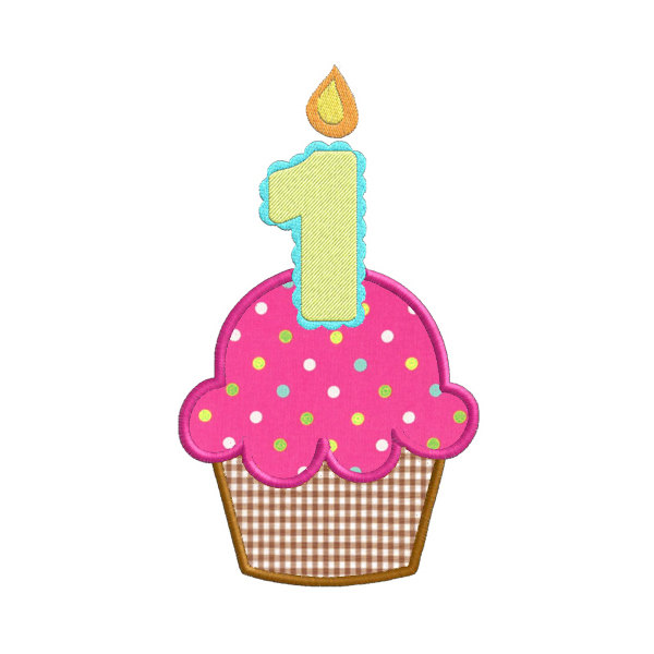 1 year cupcake transparent clipart clipart download Cupcake With Candle   Free download best Cupcake With Candle on ... clipart download