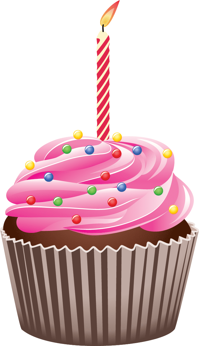 1 year cupcake transparent clipart clip art transparent library Clip art birthday cupcake clipart images gallery for free download ... clip art transparent library