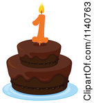 Royalty-Free (RF) First Birthday Cake Clipart, Illustrations ... clip freeuse download