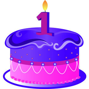 1 year old clipart.  th birthday party