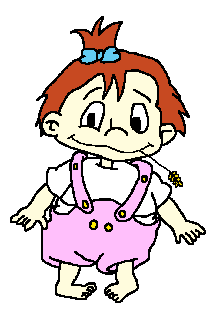 Rugrats OC: Juliana Pickles 1 year old by Noizy-Bunny on DeviantArt svg transparent library