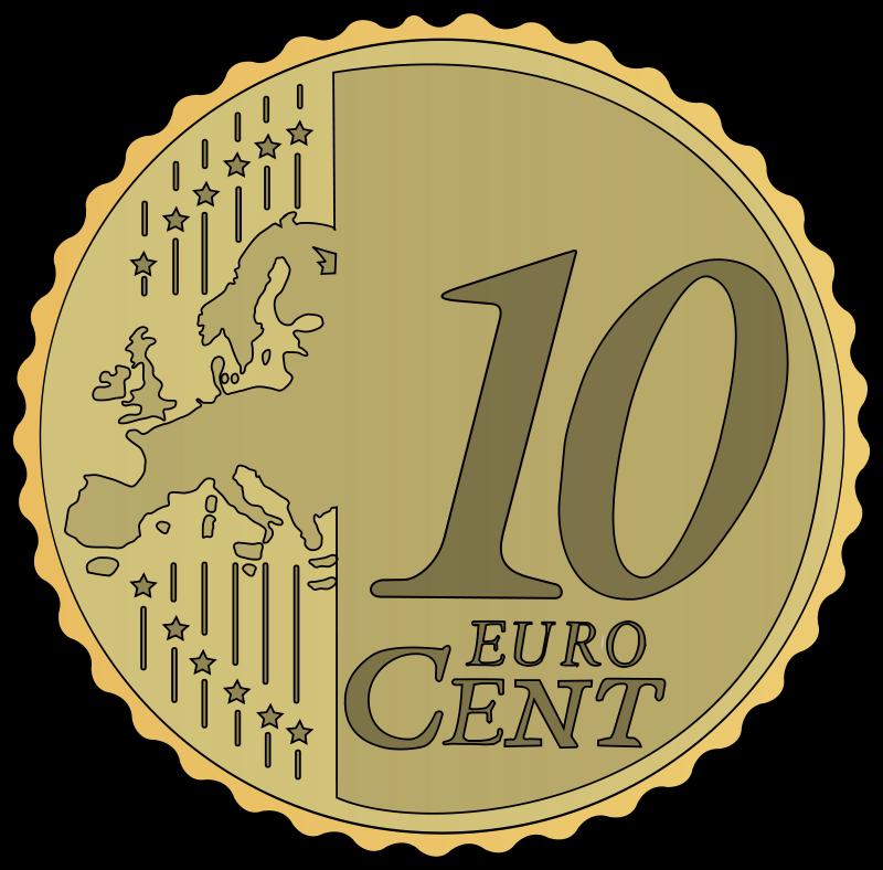 10 cent clipart