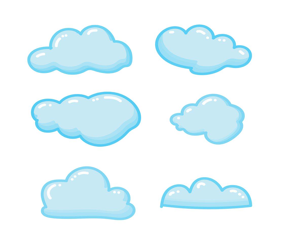 10 clipart cloud clip art free library Cloud Blue Sky Clip art - Cartoon clouds png download - 1136*936 ... clip art free library