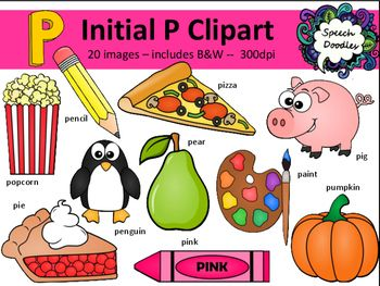 Clipart w-words clip library stock Letter P Clipart - 20 images! Personal or Commercial use | art in ... clip library stock