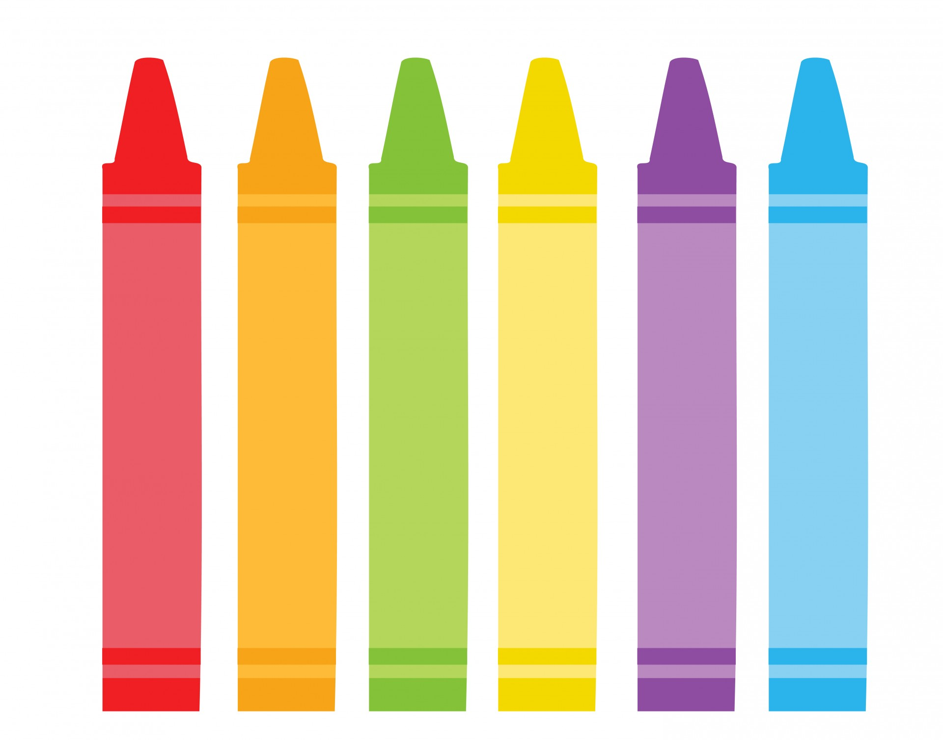 Free clipart colors banner library stock Yellow Crayon Clipart | Free download best Yellow Crayon Clipart on ... banner library stock