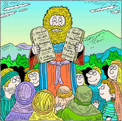The 10 commandments clipart jpg free download Image: Moses and the 10 Commandments | Deuteronomy Clip Art ... jpg free download