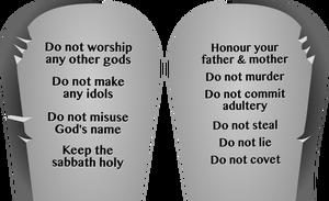 10 commandments clipart clip freeuse library 81 moses ten commandments clip art   Public domain vectors clip freeuse library