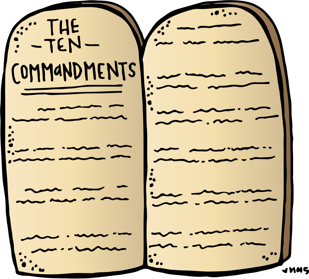 The 10 commandments clipart jpg transparent Melonheadz LDS illustrating: Ten Commandments Freebie :) | Bible ... jpg transparent
