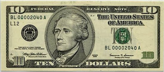 10 dollar money clipart banner black and white library Ten Dollar Bill Clipart banner black and white library