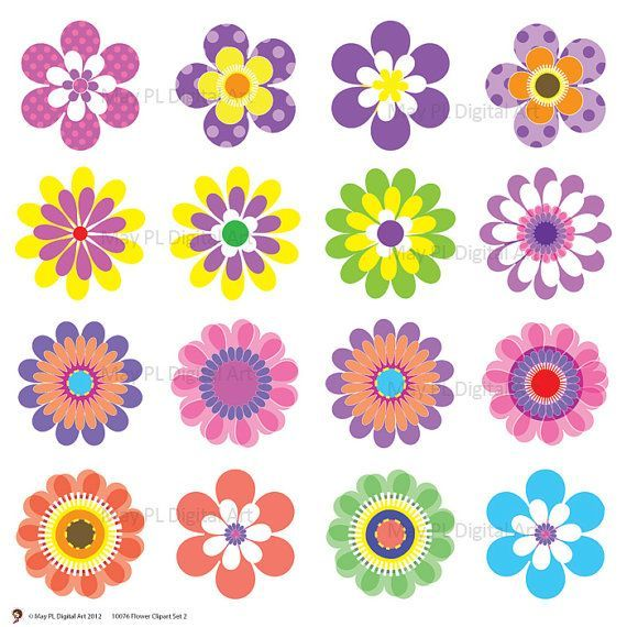 10 flowers clipart graphic black and white download 10 flowers clipart » Clipart Portal graphic black and white download