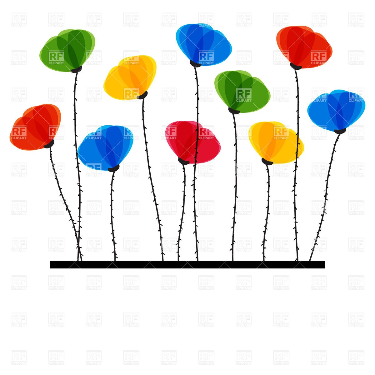 10 flowers clipart svg library 10 flowers clipart 5 » Clipart Portal svg library