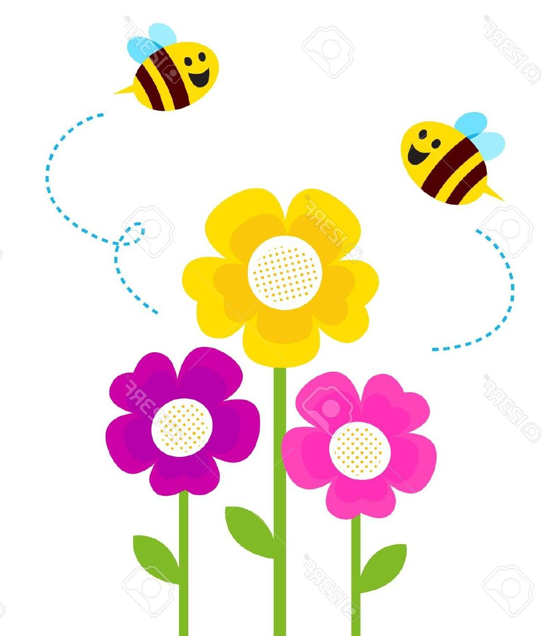 10 flowers clipart jpg royalty free download Top 10 Flowers And Bees Clipart Photos jpg royalty free download