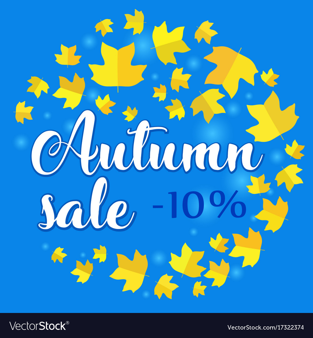 10 percent off clipart clip art library download Autumn sale - 10 percent off banner with fall clip art library download