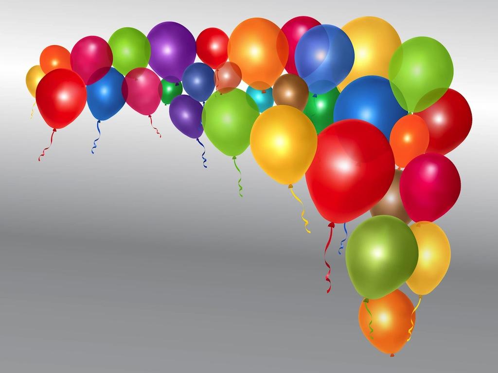 100 balloons clipart image stock Shiny Vector Balloons | free vectors | UI Download image stock