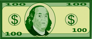 Free to use public. 100 bill clipart