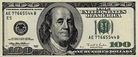 $100 Bill Clipart - Clipart Kid vector transparent