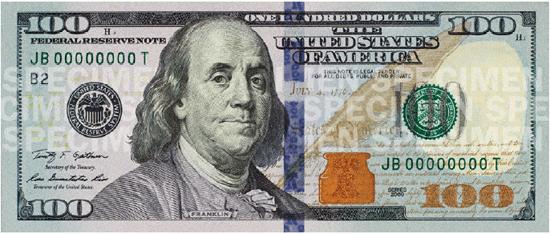 100 bill clip art - ClipartFest black and white download