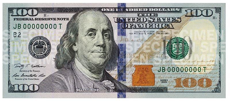 100 bills clipart png banner transparent library 100 U.S. dollar JB00000000T banknote, Benjamin Franklin United ... banner transparent library