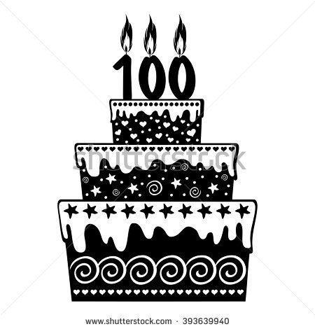 100 birthday clipart graphic 100 year birthday clipart - ClipartFox graphic