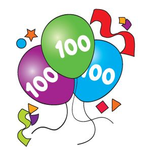 100 birthday clipart banner free 100th Day Clipart - Clipart Kid banner free