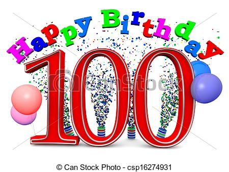 100 birthday clipart image free download 100th Birthday Clipart - Clipart Kid image free download