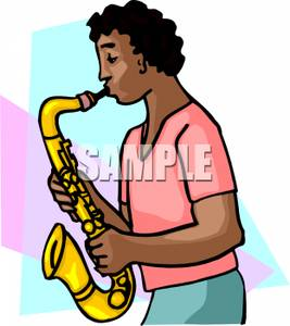 100 blackmen cliparts image free A Black Man Playing the Saxophone - Royalty Free Clipart Picture image free